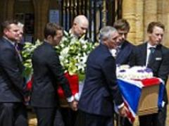 ben ainslie leads tributes at funeral of olympic sailing gold medallist andrew simpson after he was killed in training